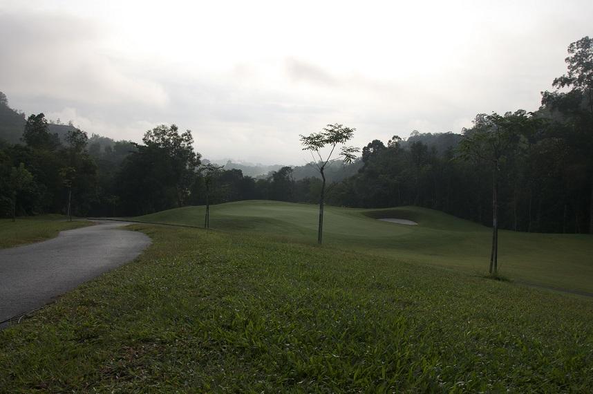 Hole 6 Golf Course Ipoh Perak Malaysia - Meru Valley