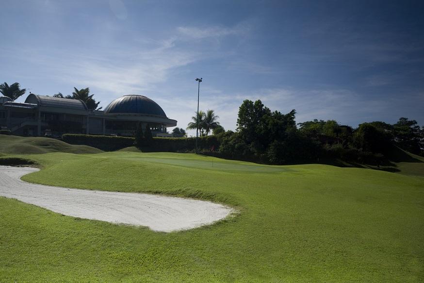 Hole 9 Golf Course Ipoh Perak Malaysia - Meru Valley
