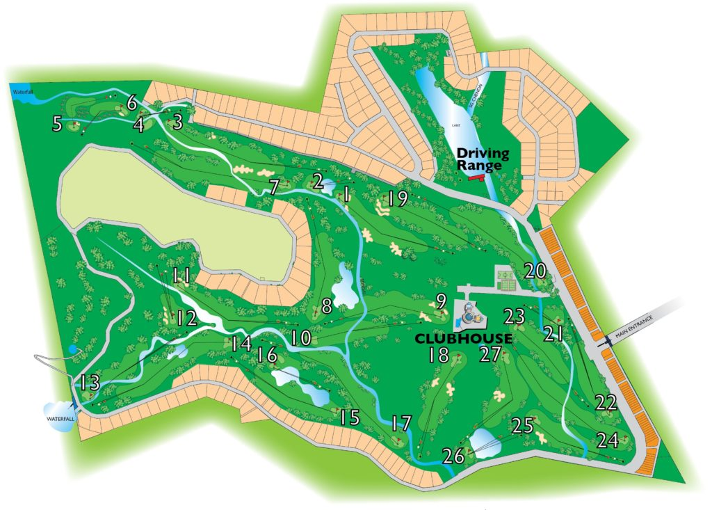 golf course layout Ipoh