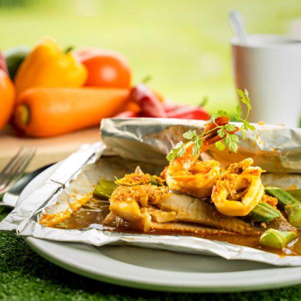 Portuguese BBQ Seafood