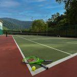 tennis doubles back on